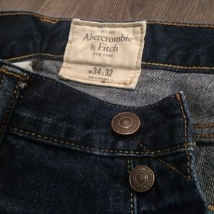 Abercrombie and Fitch Button Fly Jeans